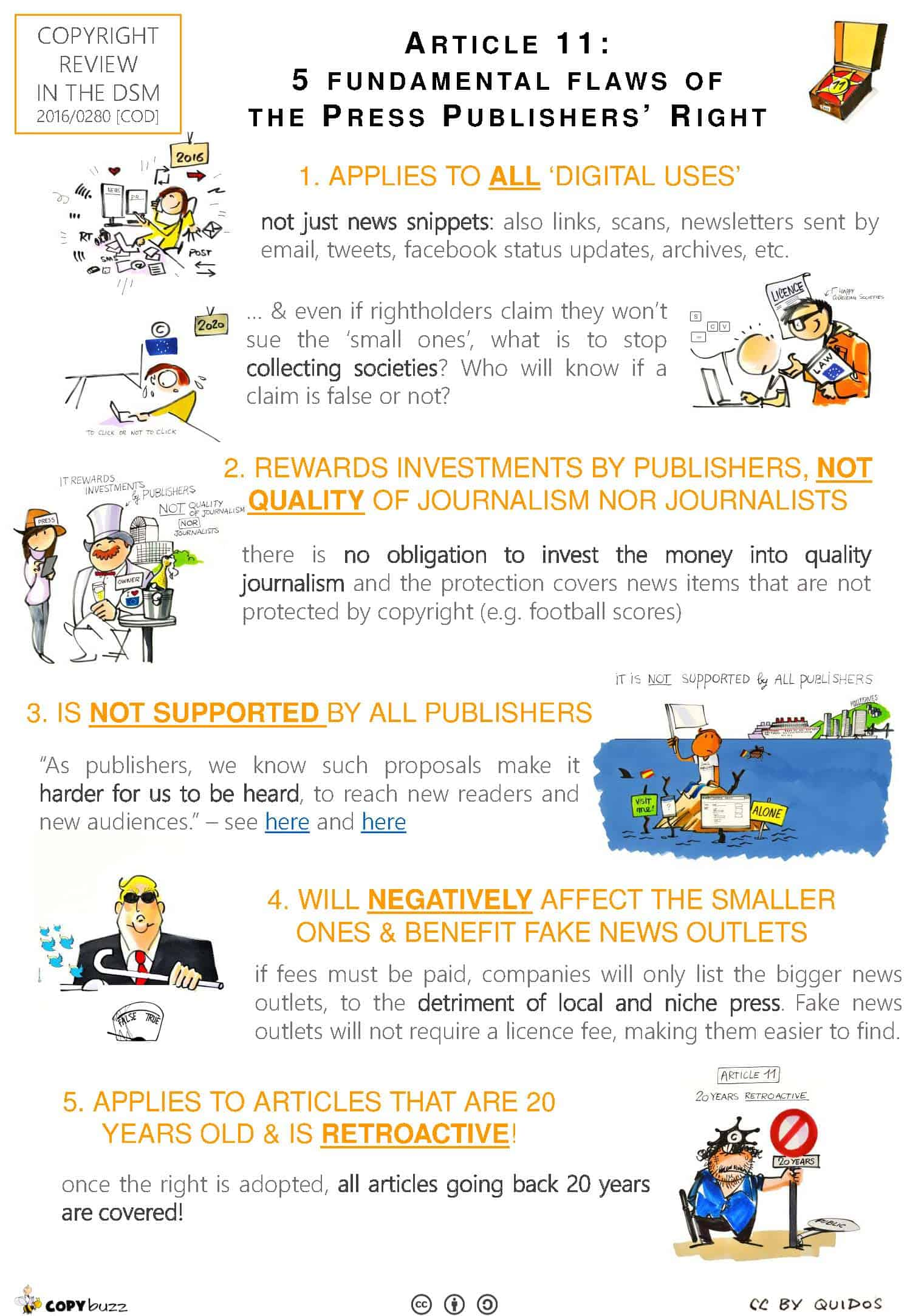 (English) The 5 fundamental flaws of the Press publisher's right