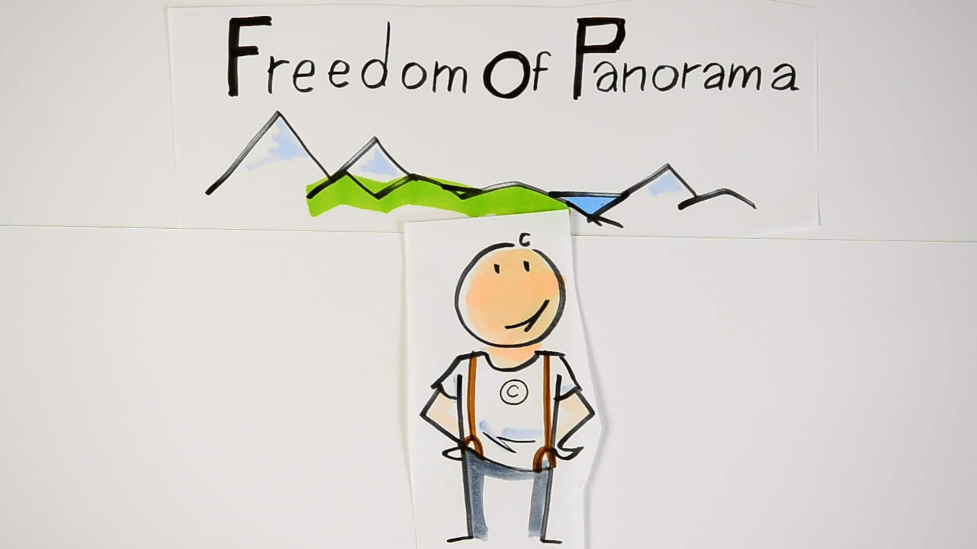 Copy explains 'Freedom of Panorama'