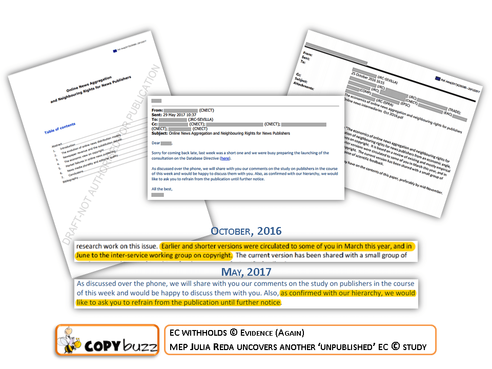 #CopyrightWeek – EC Withholds © Evidence (Again)