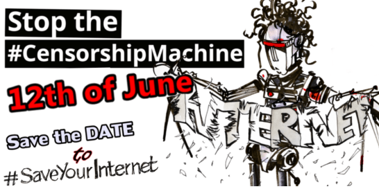 #SaveYourInternet 12 June Action Day