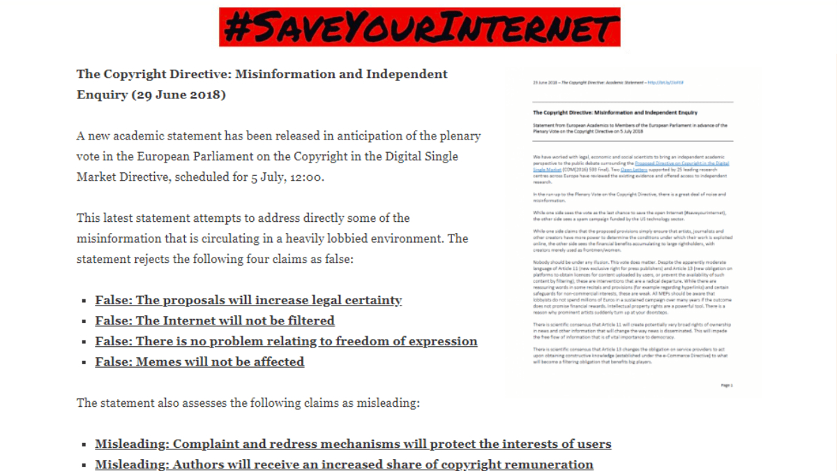 (English) #SaveYourInternet Action Week – Day 3 Twitter Recap