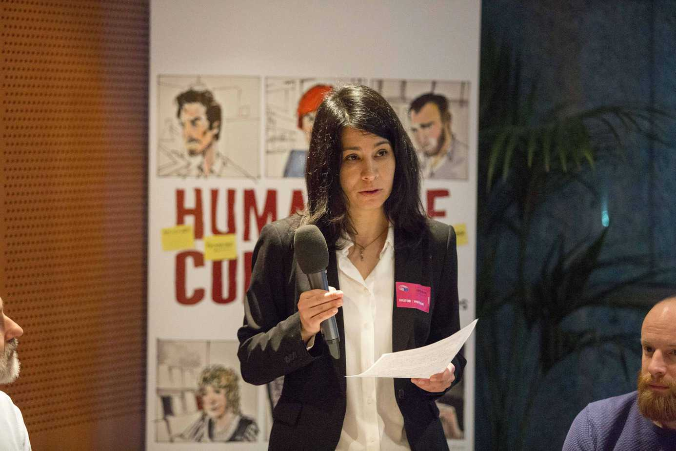 (English) #HumansOfCopyright: Interview with Éva Simon